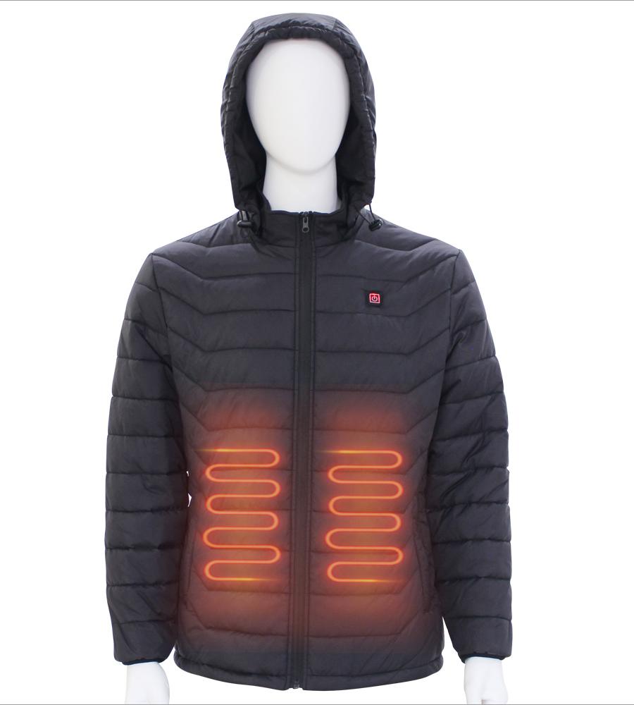 Winter Heated Jacket   Man Style Outdoor  Heated Garment